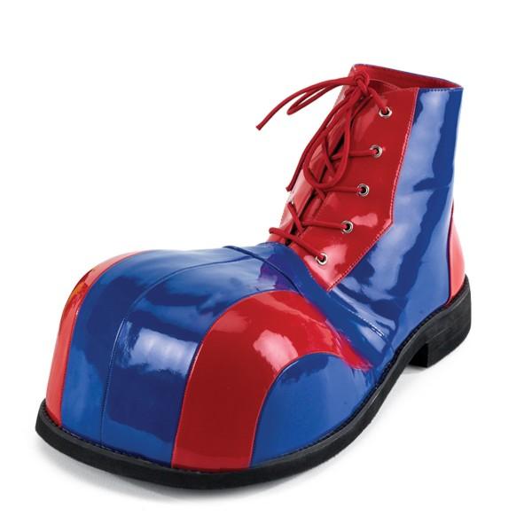 Funtasma Clown-Schuhe Clown-05 rot/blau