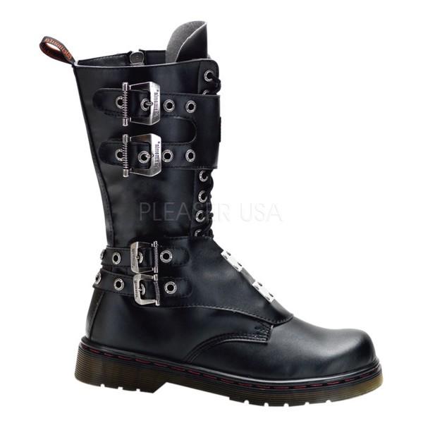 Demonia Veggie Military Stiefel Defiant-302 schwarz