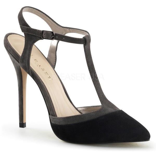 SALE! PleaserUSA Damen Wildleder-Sandaletten Amuse-17