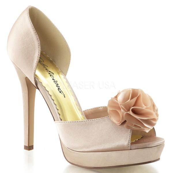 SALE! Fabulicious Damen High Heel Sandalette Lumina-34 champagne