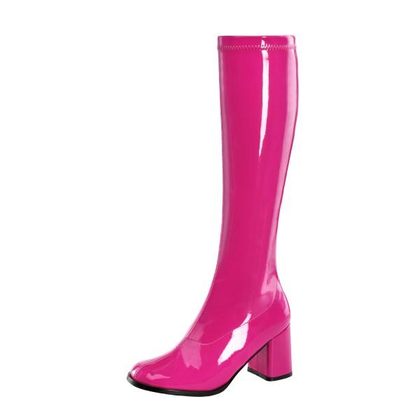 Funtasma Kniestiefel Gogo-300 hot pink