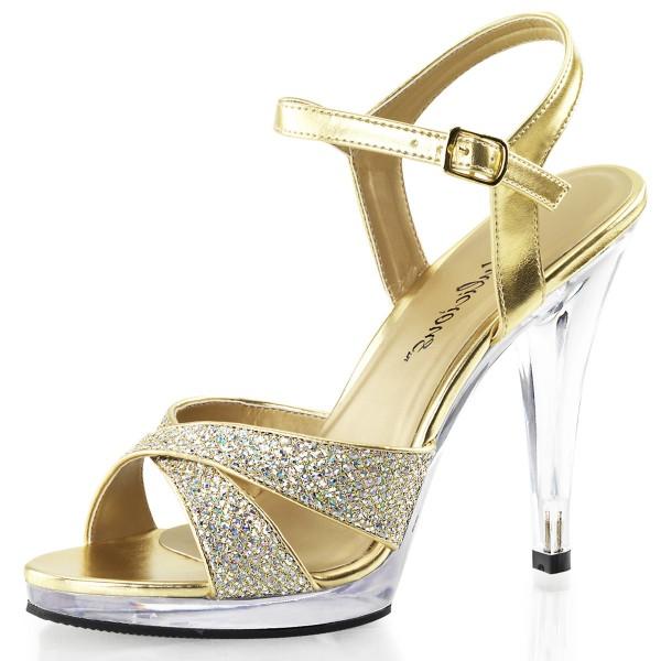Fabulicious Damen Riemchen-Sandaletten Flair-419G gold