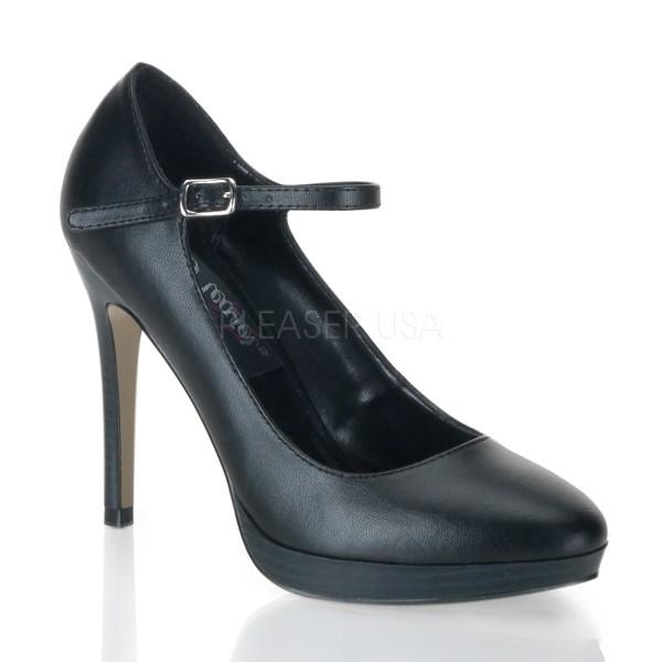 SALE! PleaserUSA Damen High Heels Pumps Bliss-31 mattschwarz