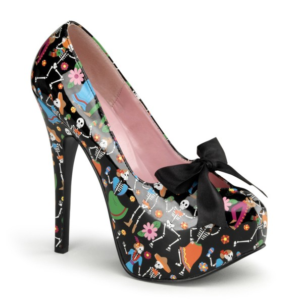 PinUp Couture High-Heels Pumps Teeze-12-4 Muertos