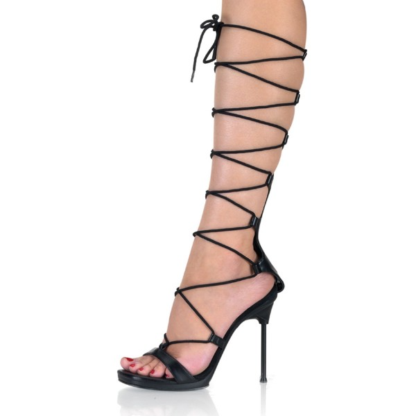 Fabulicious High Heels Sandaletten Chic-60 schw./schw.