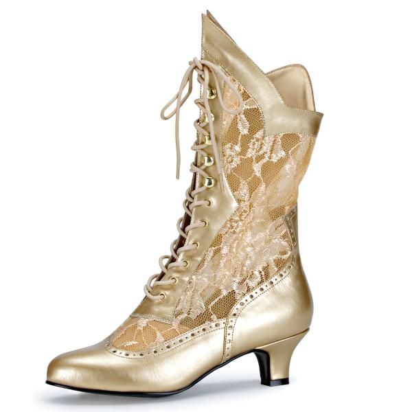 Funtasma Kostüm-Stiefeletten Dame-115 gold
