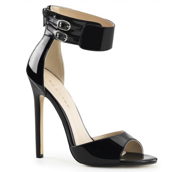 PleaserUSA High Heels-Sandaletten Sexy-19 schwarz