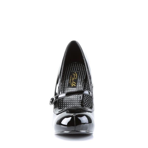 PinUp Couture High-Heels Pumps Cutiepie-02 Lack schwarz