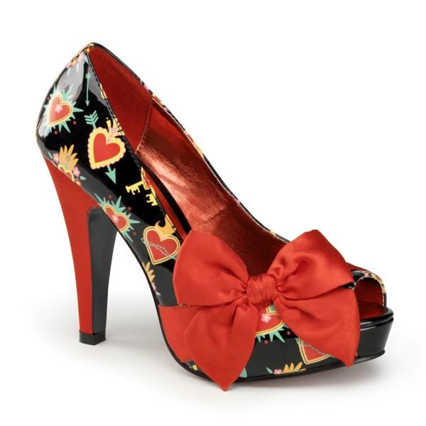 PinUp Couture High-Heels Pumps Bettie-13 Muertos