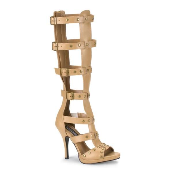 SALE! Funtasma High Heel Gladiator-Sandalen Gladiator-208 tan