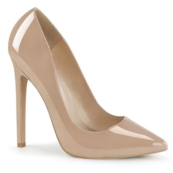 PleaserUSA High Heels Pumps Sexy-20 Lack nude