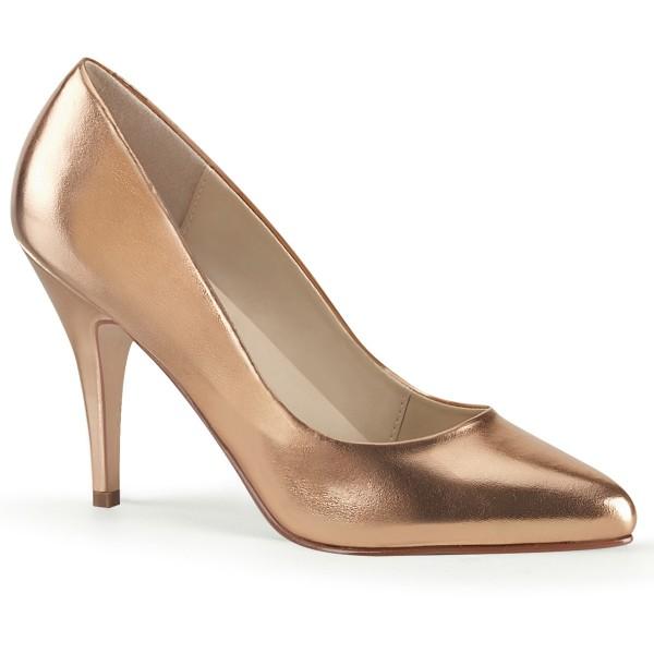 PleaserUSA Damen High Heel-Pumps Vanity-420 Rose-Gold