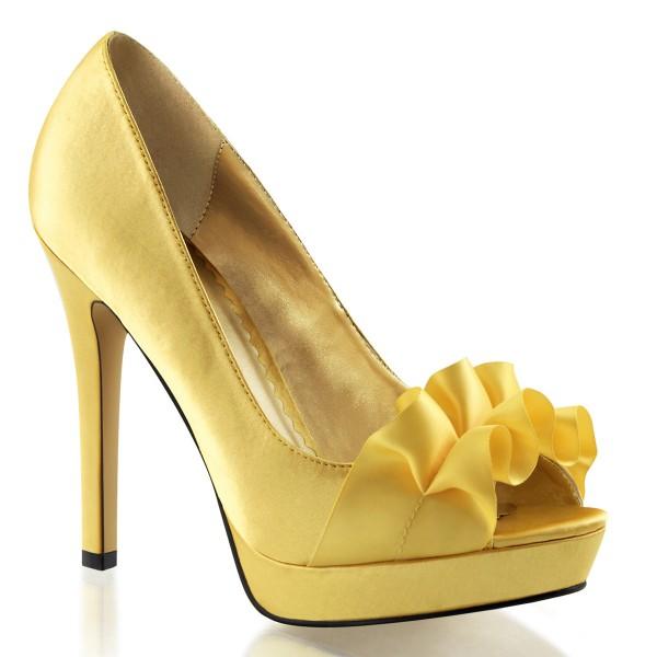 SALE! Fabulicious Damen High Heel Pumps Lumina-42 gelb