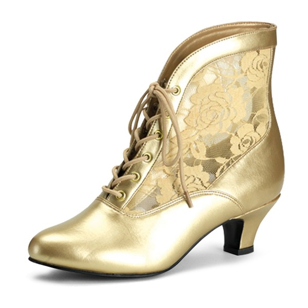 Funtasma Schuhe für Grand Dames Dame-05 gold