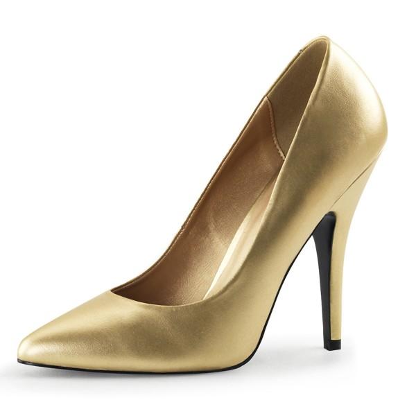 PleaserUSA High Heels-Pumps Seduce-420 gold