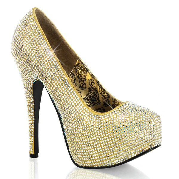 Bordello InStyle-Pumps Teeze-06R gold