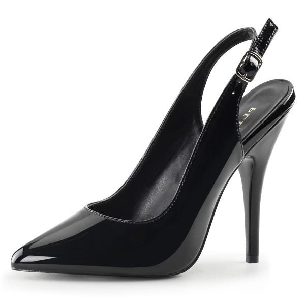 PleaserUSA High Heels-Pumps Seduce-317 schwarz