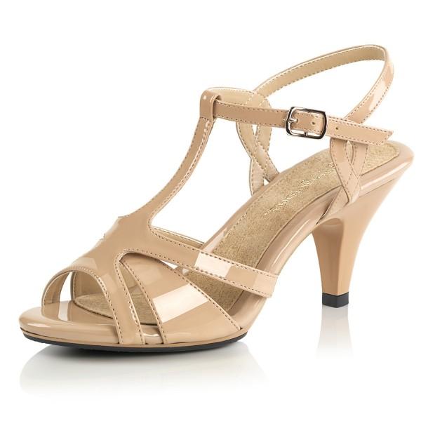 Fabulicious Damen Sandaletten Belle-322 Lack nude