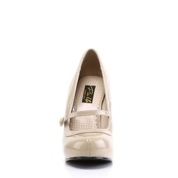 PinUp Couture High-Heels Pumps Cutiepie-02 creme