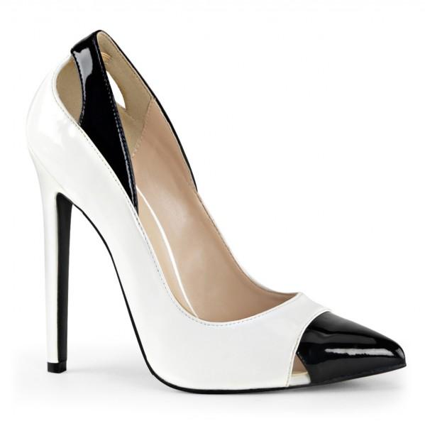 PleaserUSA High Heels Pumps Sexy-22 weiß