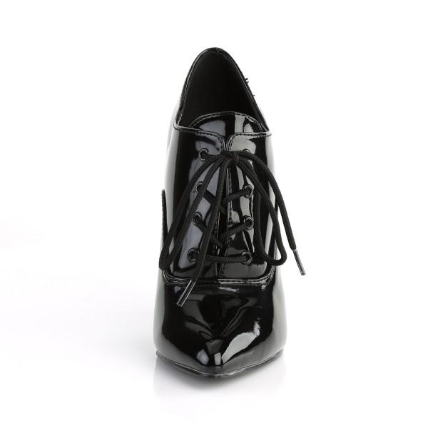 PleaserUSA Damen High Heels-Pumps Seduce-460 Lack schwarz