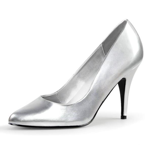 PleaserUSA High Heel-Pumps Vanity-420 silber