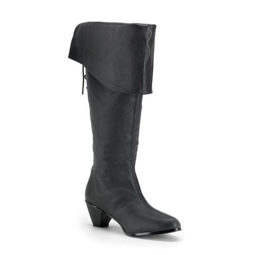 SALE! Funtasma Damen Piraten-Stiefel Maiden-2025 Echt Leder schwarz