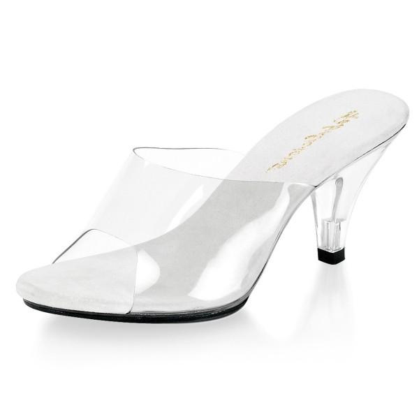 Fabulicious Pantoletten Belle-301 weiß