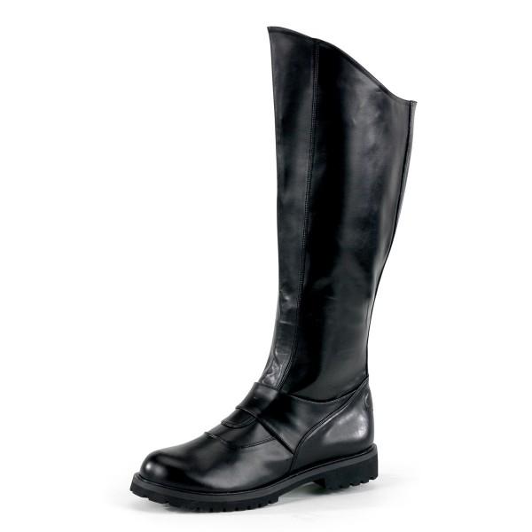 Funtasma Superhelden-Stiefel für Herren Gotham-100 schwarz