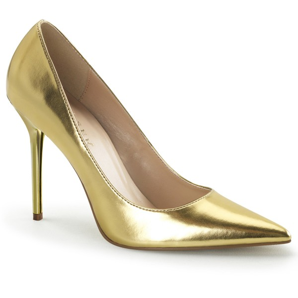 PleaserUSA Pumps Classique-20 gold