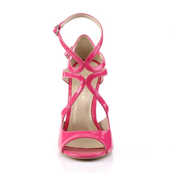 SALE! PleaserUSA Damen Riemchen-Sandaletten Amuse-15 hot pink