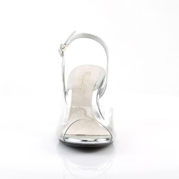 Fabulicious Damen Sandalen Sandaletten Belle-350 silber