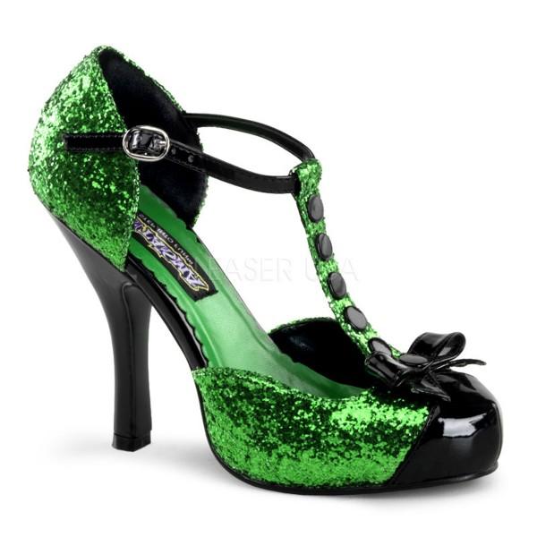 SALE! Funtasma Damen Fantasy-Heels Sandaletten Festive-10G grün