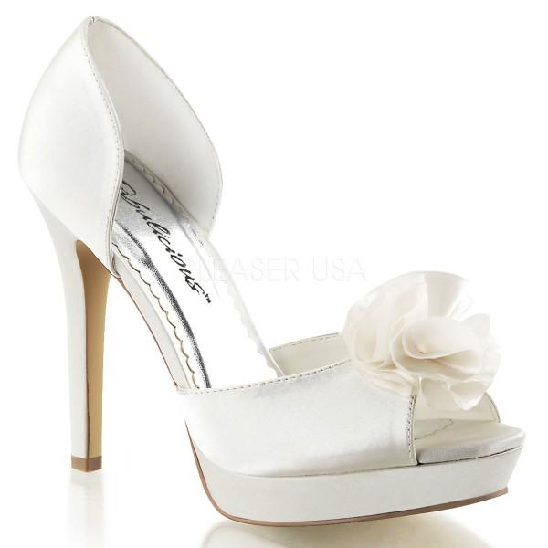 SALE! Fabulicious Damen High Heel Sandalette Lumina-34 ivory