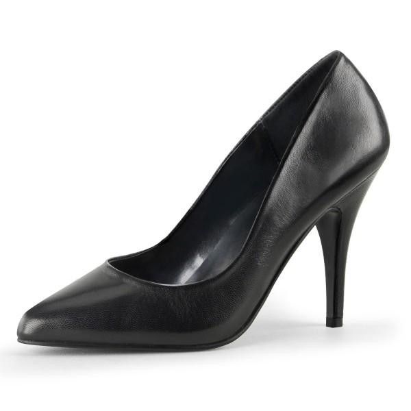 PleaserUSA High Heel-Pumps Vanity-420 Leder schwarz