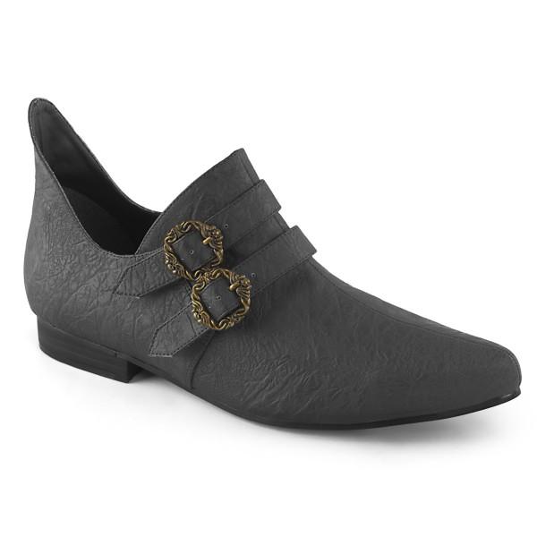 Funtasma Spitze Herren Renaissance Schuhe Aldix-20 schwarz Kostüm LARP