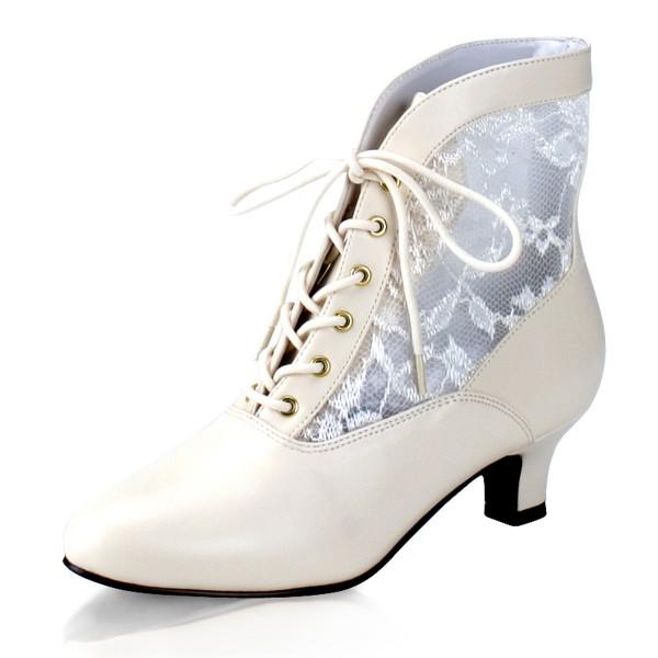 Funtasma Schuhe für Grand Dames: Dame-05 ivory
