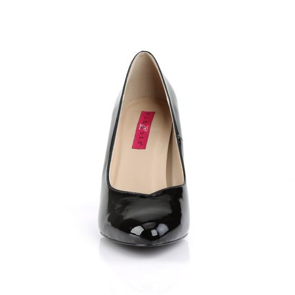 Pleaser Pink Label X-Size-Pumps Dream-420 schwarz Lack