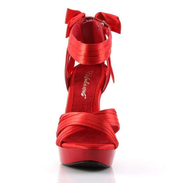 Fabulicious High Heels Sandaletten Cocktail-568 rot