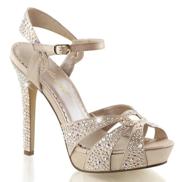 Fabulicious High Heels Sandaletten Lumina-23 champagne