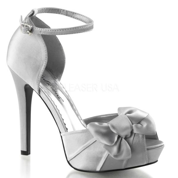 SALE! Fabulicious Damen High Heel Sandalette Lumina-36 silber