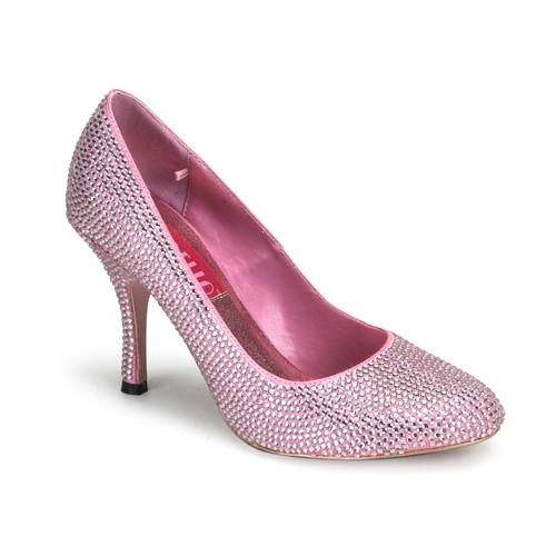 SALE! Bordello Damen Glitzer-Sandaletten Violette-14R Glitter babypink Gr. 38