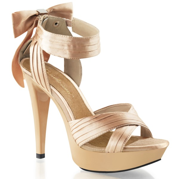 Fabulicious High Heels Sandaletten Cocktail-568 champagne