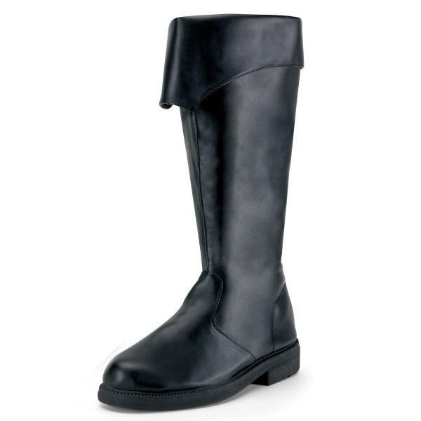 Funtasma Seefahrer-Stiefel für Herren Captain-105 schwarz