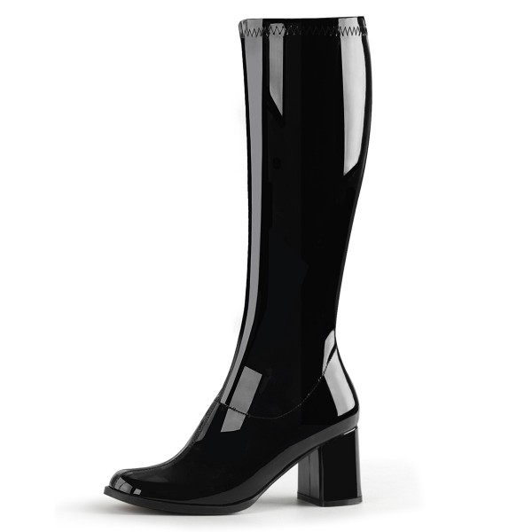Funtasma Kostüm-Stiefel Gogo-300 Lack schwarz