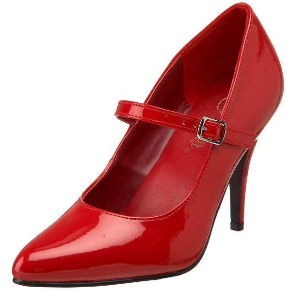 SALE! PleaserUSA DamenHigh Heel-Pumps Vanity-440 Lack rot