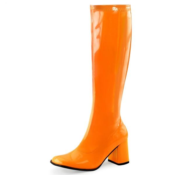 Funtasma Stiefel Gogo-300UV neon-orange