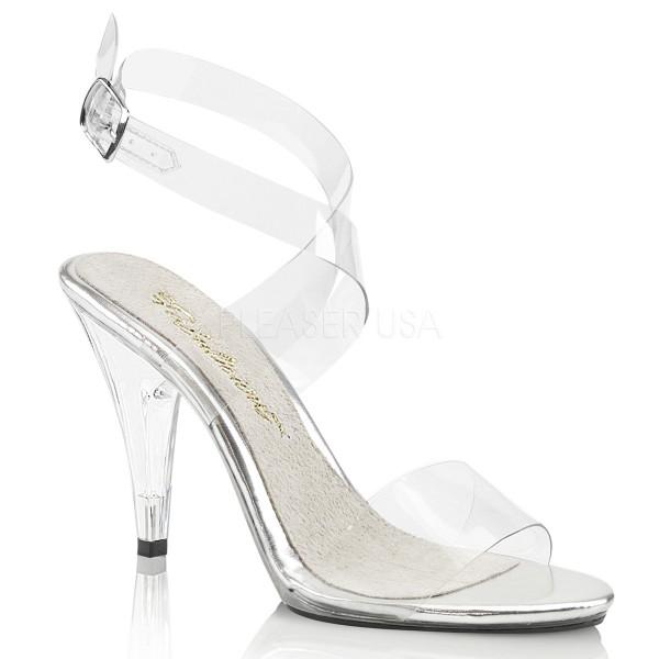 Fabulicious Damen Sandaletten mit klaren Riemchen Caress-412