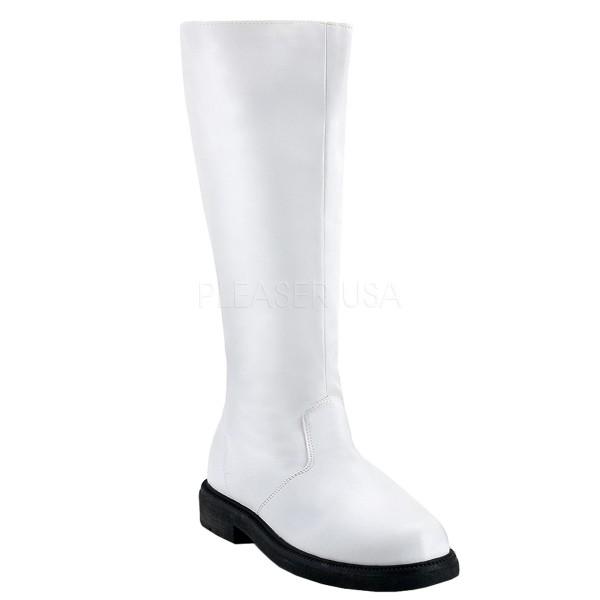 Funtasma Seefahrer-Stiefel für Herren Captain-100 weiß