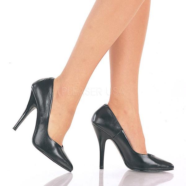 SALE! PleaserUSA High Heels-Pumps Seduce-420 Leder schwarz
